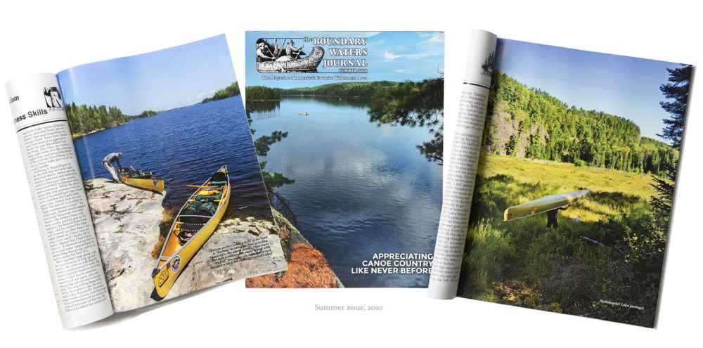 Mark Tade's photography featured in Boundary Waters